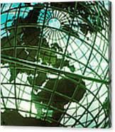 Steel Globe At The Trump International Canvas Print