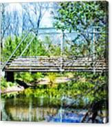 Steel Span Bridge Gettysburg Canvas Print