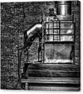 Steel Vents Canvas Print