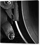 Steel Wheel I Canvas Print