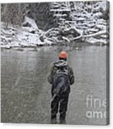 Steelhead Fishing Canvas Print