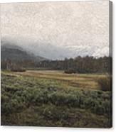 Steens Mountain Landscape - No. 2 Canvas Print