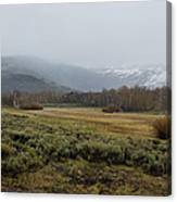 Steens Mountain Landscape - No 2a Canvas Print