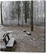 Steep And Frost - 3 Canvas Print