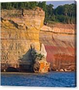 Steep Cliffs Canvas Print