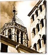 Steeple Barcelona Canvas Print