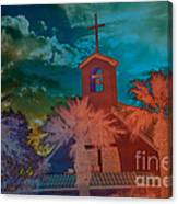 Steeple Bell Tower Canvas Print