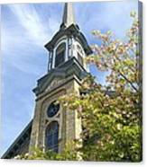 Steeple Church Arch Windows Canvas Print