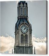 Steeple In Haverhill Ma Canvas Print