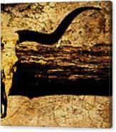 Steer Mount Canvas Print