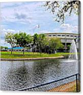 Steinbrenner Field Lake 2 Canvas Print