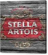 Stella Artois Canvas Print