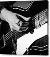 Stella Burns - Guitar Close-up Canvas Print