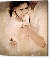 Stellar Couple Dance Canvas Print
