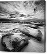 Step Stone Revisited Canvas Print