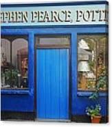 Stephen Pearce Pottery Shanagarry Ireland Canvas Print