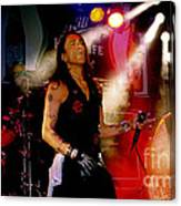 Stephen Pearcy Of Ratt Canvas Print