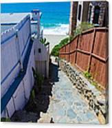Aliso Creek Beach Access Canvas Print