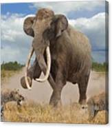 Steppe Mammoth Canvas Print