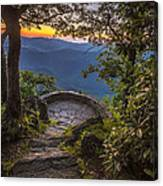Steps To A View Canvas Print