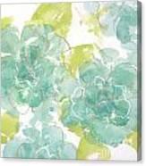 Sterling Camellia I Canvas Print