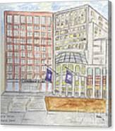 Nyu Stern School Of Business Canvas Print