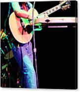 Steve Howe Of Yes 1980 Drama Tour Canvas Print