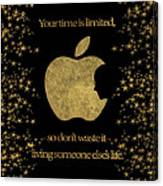 Steve Jobs Quote Original Digital Artwork Canvas Print
