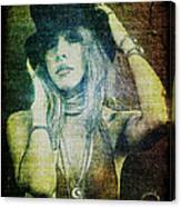 Stevie Nicks - Bohemian Canvas Print