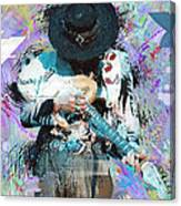 Stevie Ray Vaughan #4 Canvas Print