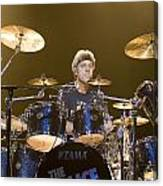 Stewart Copeland Of The Police Canvas Print