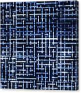 Stick Labyrinth Canvas Print