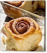 Sticky Cinnamon Buns Canvas Print
