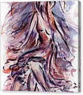 Still Dancing Canvas Print