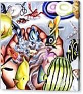 Still Drunk Canvas Print