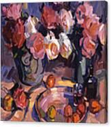 Still Life Apres Manet Canvas Print