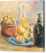 Still Life From Italy Canvas Print