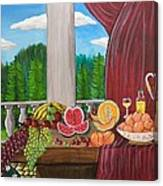 Still Life Fruits Canvas Print