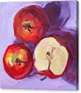 Still Life Kitchen Apple Painting Canvas Print