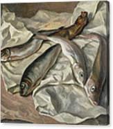 Still Life Of Fish, 1928 Canvas Print