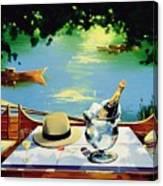 Still Life Regatta Canvas Print