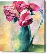 Still Life Roses Canvas Print
