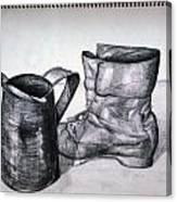 Still Life With Boot Canvas Print