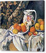 Still Life With Drapery Canvas Print