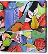 Still Life With Geisha Canvas Print