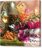 Still Life With Lemon. 2013 80/60 Cm.  Canvas Print