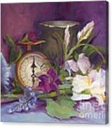 Still Life With Memories Canvas Print