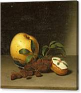 Still Life With Cake  Canvas Print