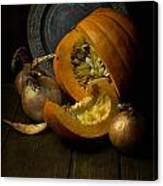 Still Life With Pumpkin Canvas Print