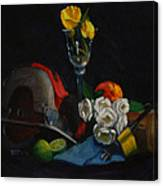 Still Life With Skillsaw Canvas Print